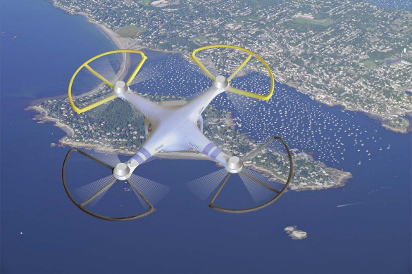 Impact of drones on security