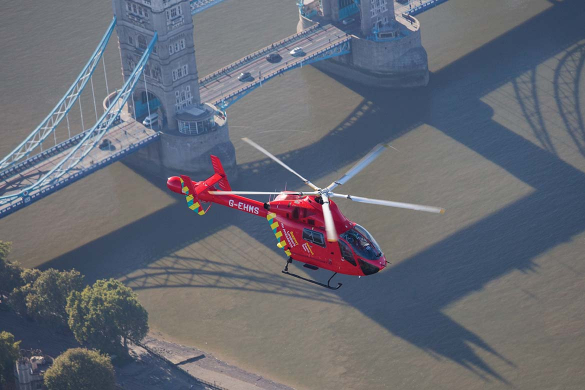 London's air ambulance 2016