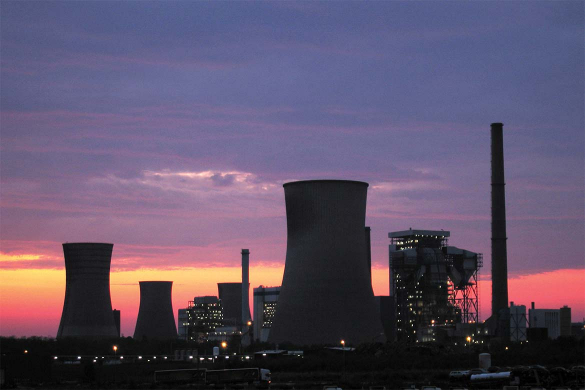 Nuclear power stations drones