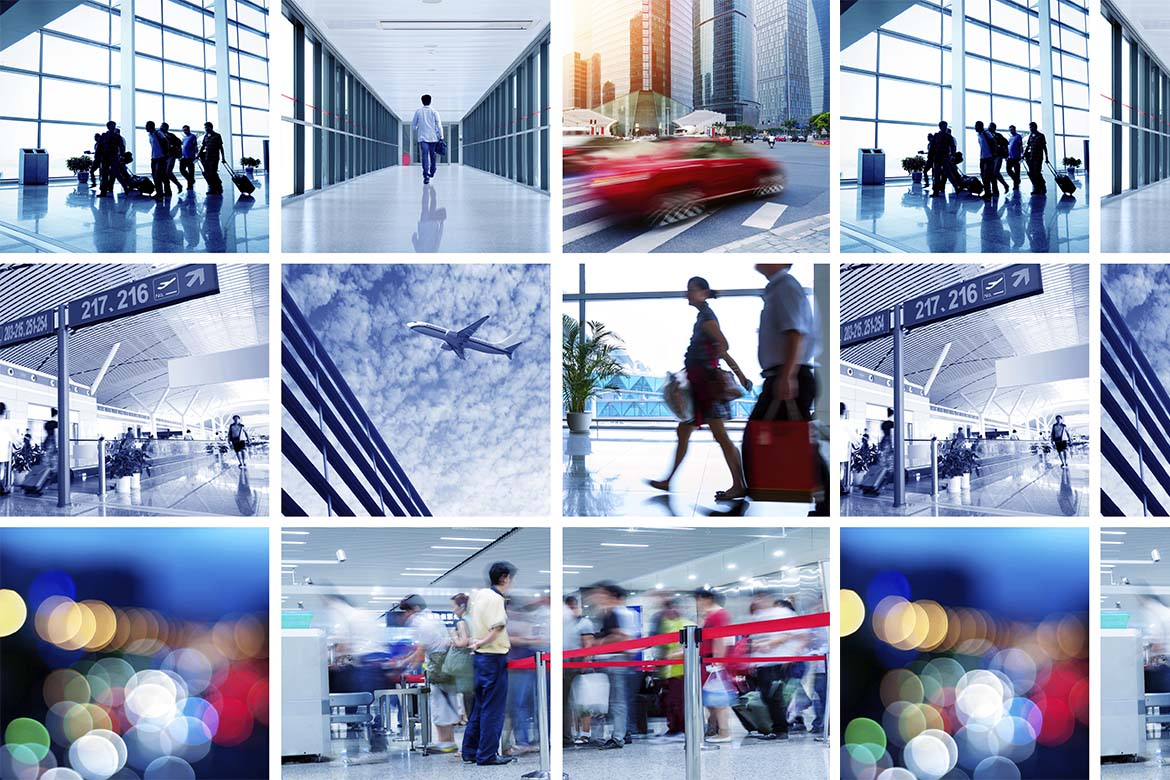 Business travellers security threats