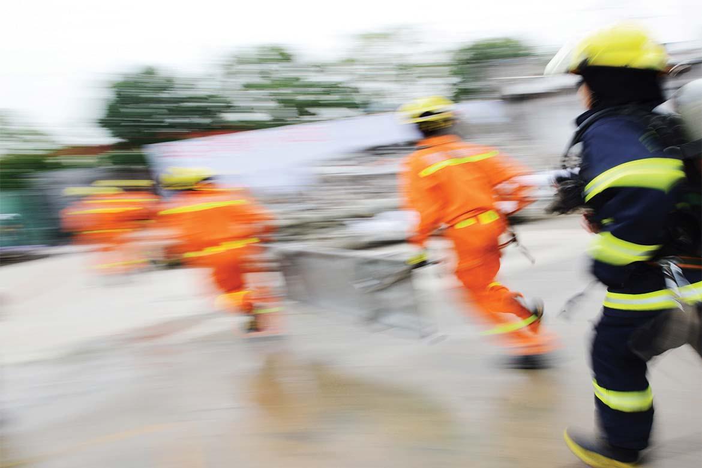Emergency response officer