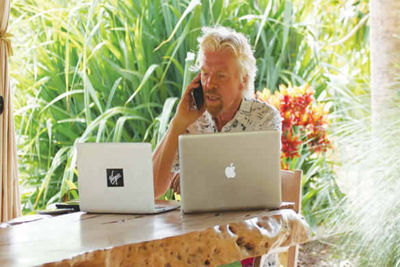 Richard Branson IP crime