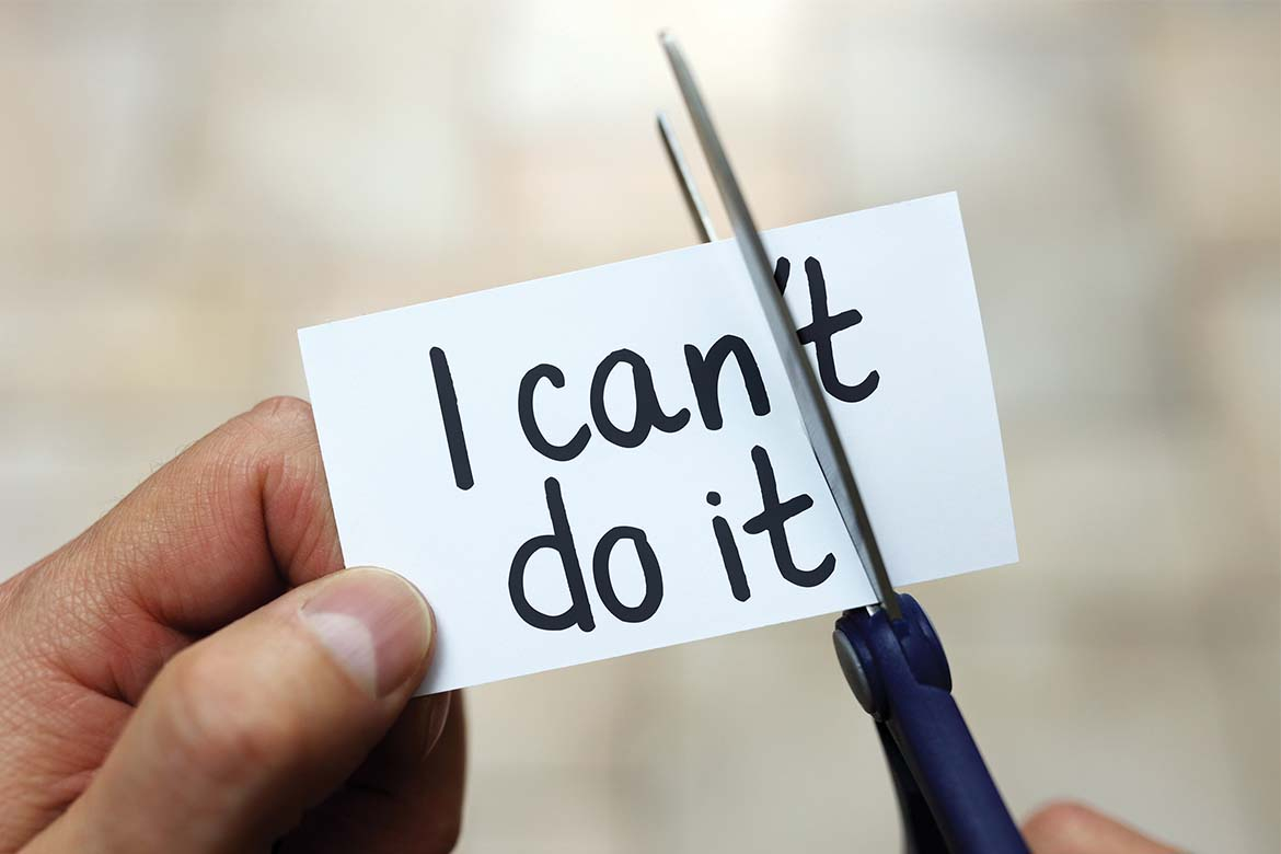 Words I can/can't do it