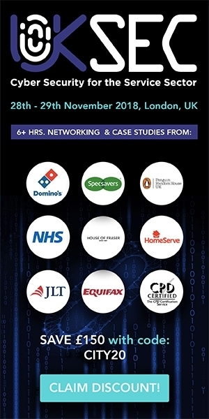 Banner ad for UKSec Summit