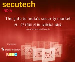Secutech India Box Ad until April 29 2019