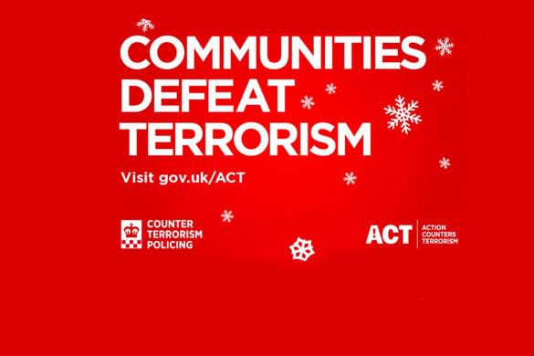Communities Defeat Terrorism poster