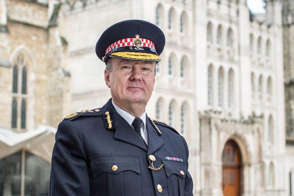 Commissioner Ian Dyson