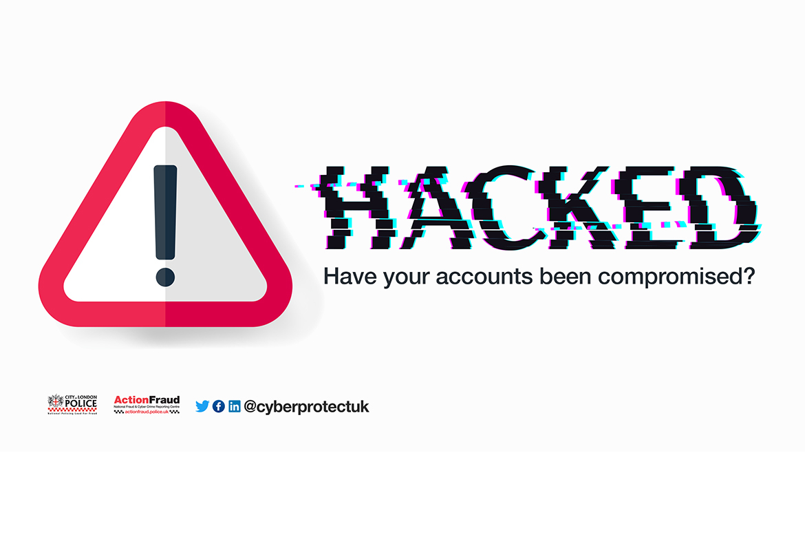 Hacked! Have your accounts been compromised? - City Security
