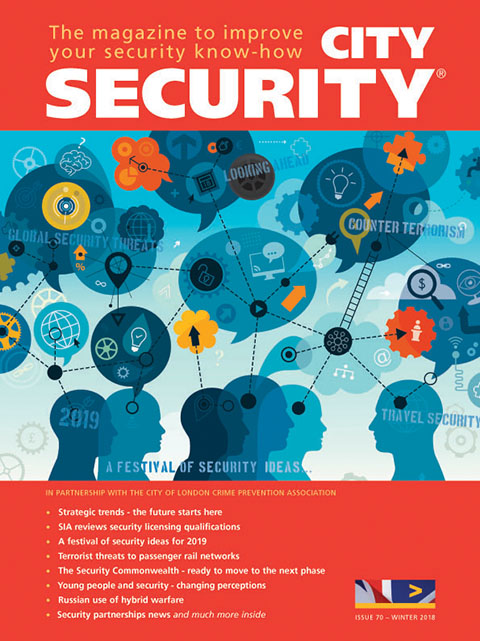 City Security magazine winter 2019