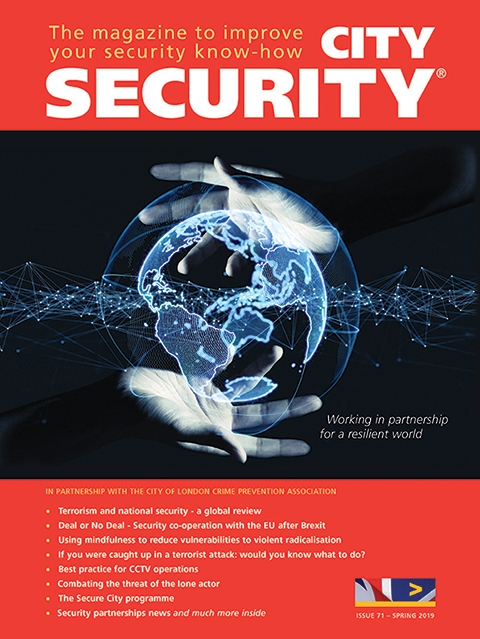 City Security magazine spring 2019 cover