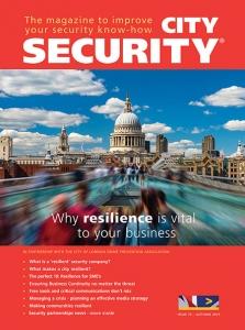 City security magazine autumn cover