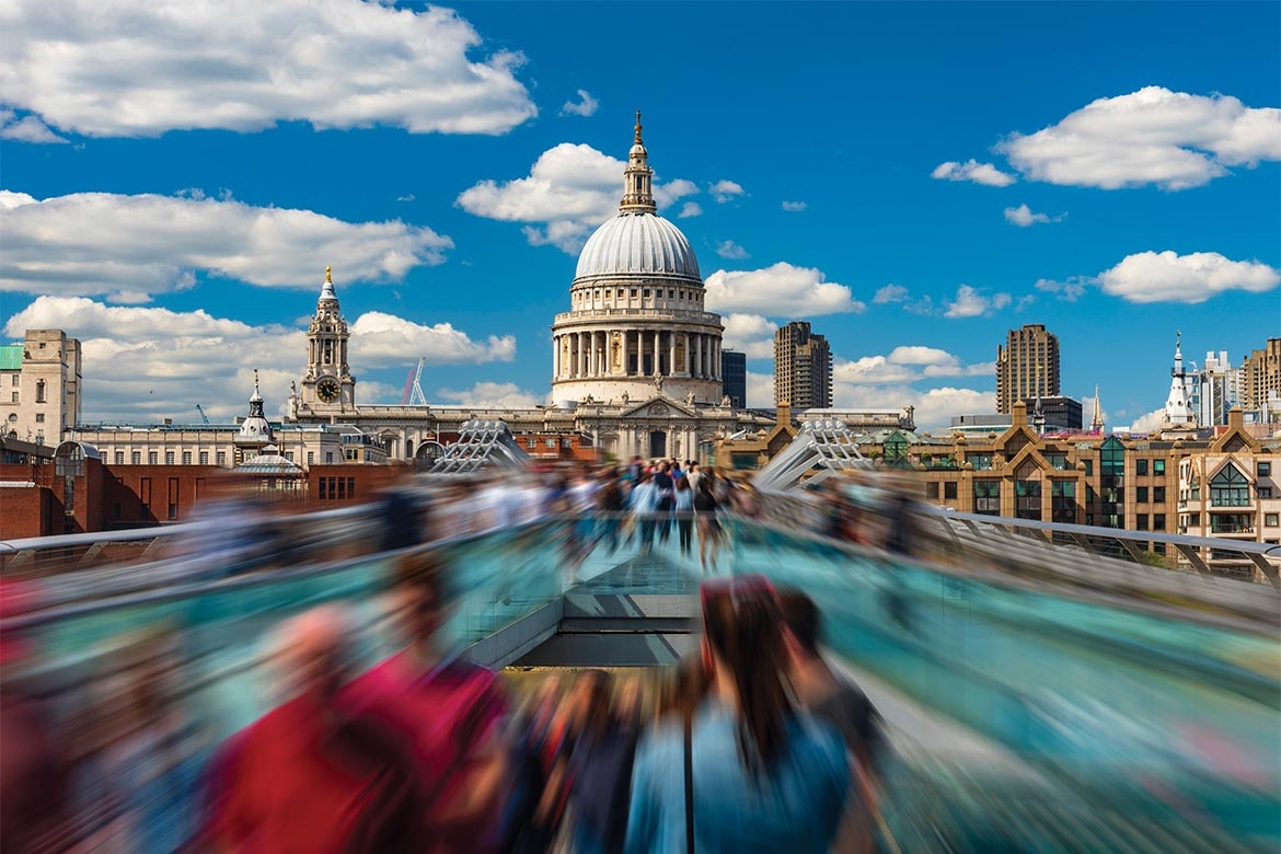 St Pauls in City of London