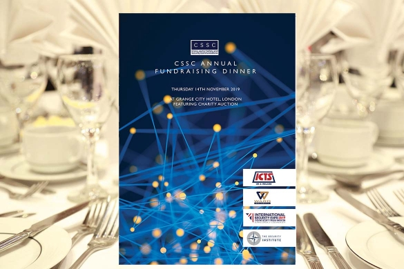 CSSC Fundraising dinner programme