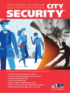 Cover City Security magazine summer edition