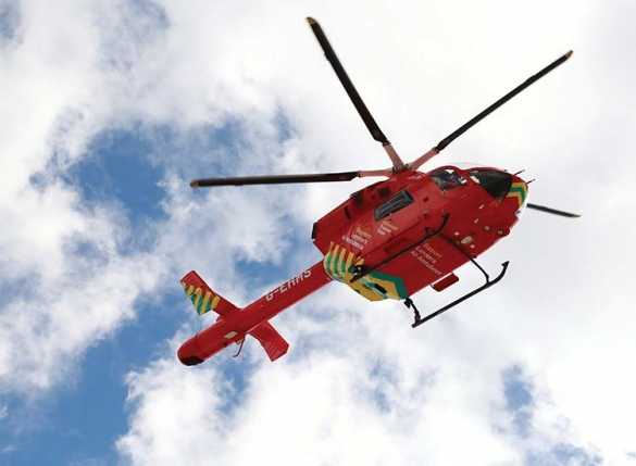 London Air Ambulance helicopter