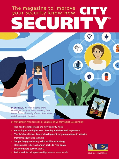 city security magazine summer cover