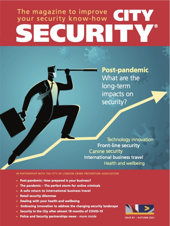 City security mag autumn cover